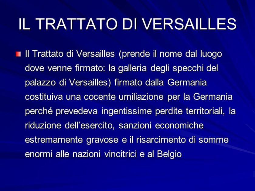IL+TRATTATO+DI+VERSAILLES
